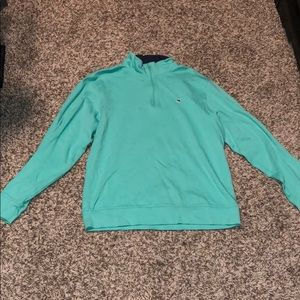 Vineyard Vines half zip jacket.